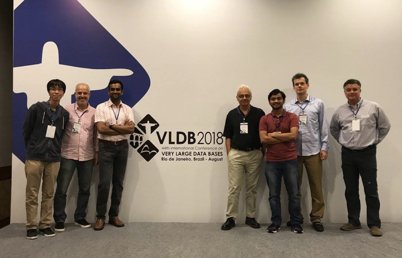 DB Lab at VLDB 2018